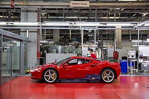 Ferrari yeniden üretime başladı, F1 fabrikası önümüzdeki hafta açılıyor