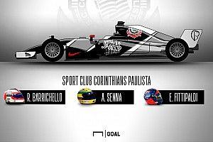 F1 e futebol: veja como seriam carros com pinturas dos times de coração de grandes pilotos