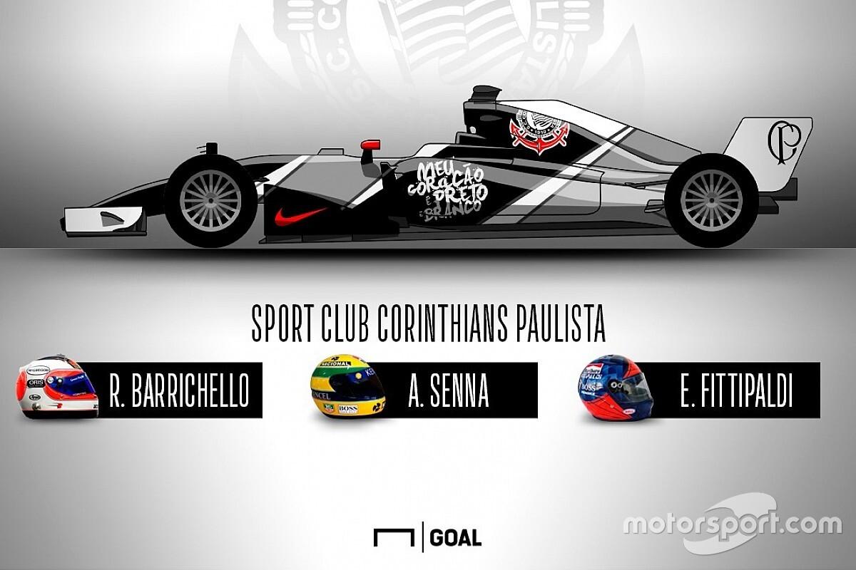 Neves futballcsapatok F1-es festéseik