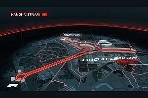 Vídeo: así es una vuelta on board al circuito de Vietnam que debutará en F1 en 2020