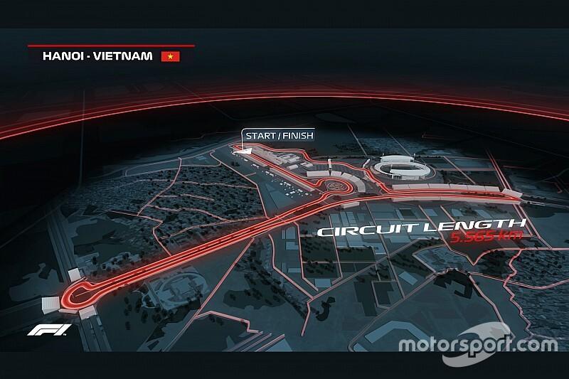 VÍDEO: Veja volta virtual no circuito do Vietnã, que estreia na F1 em 2020