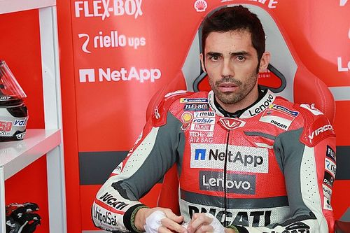 Cedera bahu, Pirro lewatkan tes Jerez