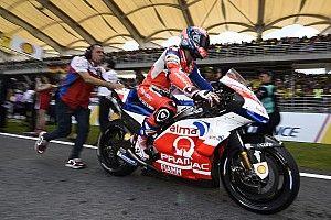 Petrucci bridé par un mauvais choix de pneu arrière