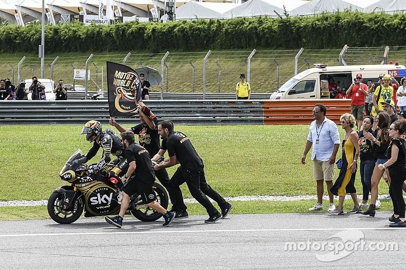 Moto2-kampioen Bagnaia sloeg aanbod af om in 2018 MotoGP te rijden