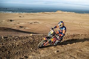 Прайс во второй раз одержал победу в «Дакаре» в категории мотоциклов