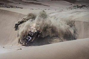Карякин попал в аварию на «Дакаре» и выбыл из борьбы за победу