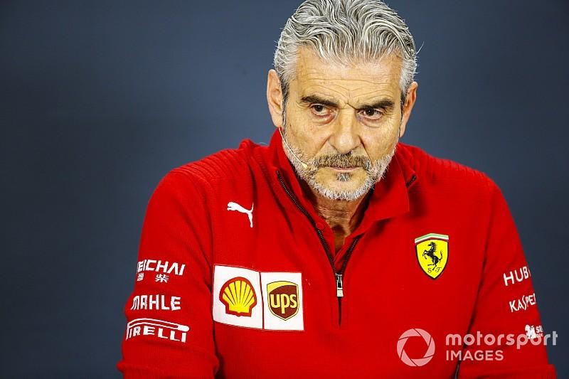"""Arrivabene: """"En las últimas carreras vimos al verdadero Vettel, una pena lo de Kimi"""""""