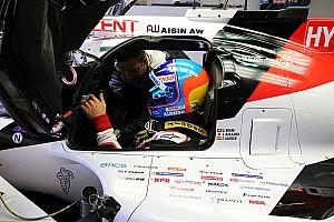 Alonso, optimista de cara a la carrera de Fuji