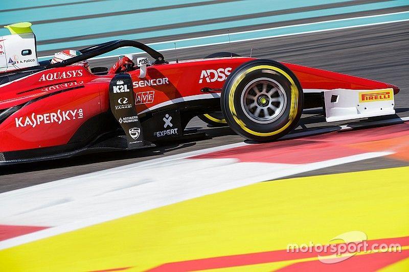 Fuoco chiude la stagione alla grande con il successo nella Sprint Race di Abu Dhabi