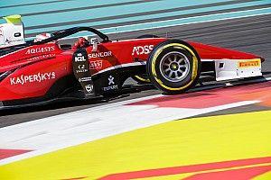 F2 Abu Dhabi: Fuoco menang sprint race, Gelael tabrakan