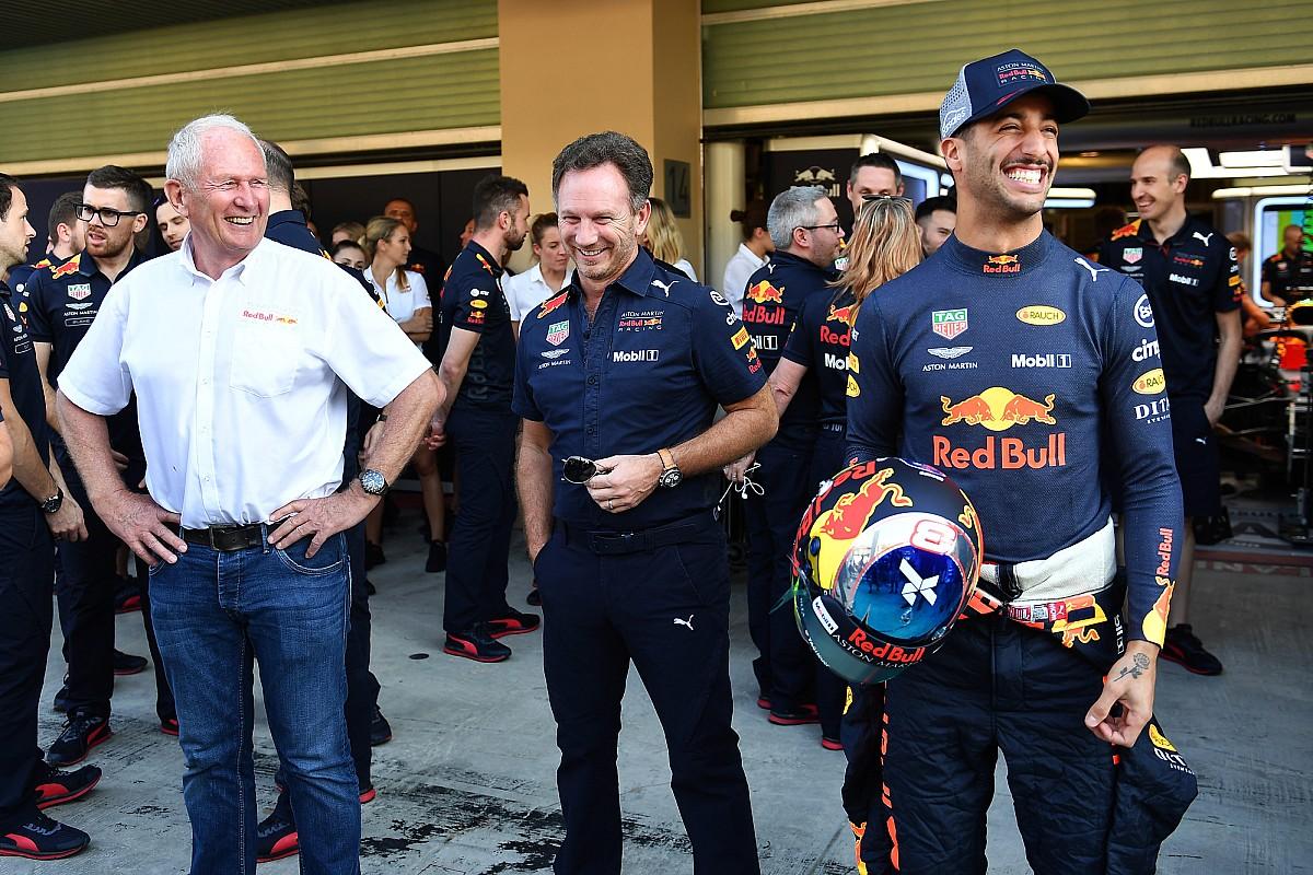 Red Bull 'heeft alles gedaan' om Ricciardo te behouden