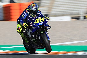 Rossi positief na test Yamaha-motorblok in Valencia