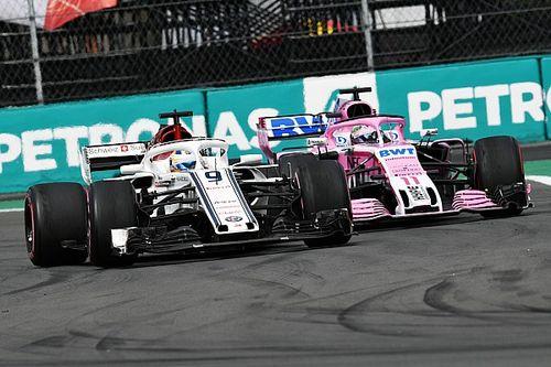 Pérez abandonó el Gran Premio de México al quedarse sin frenos