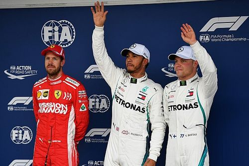 La parrilla de salida del GP de Brasil