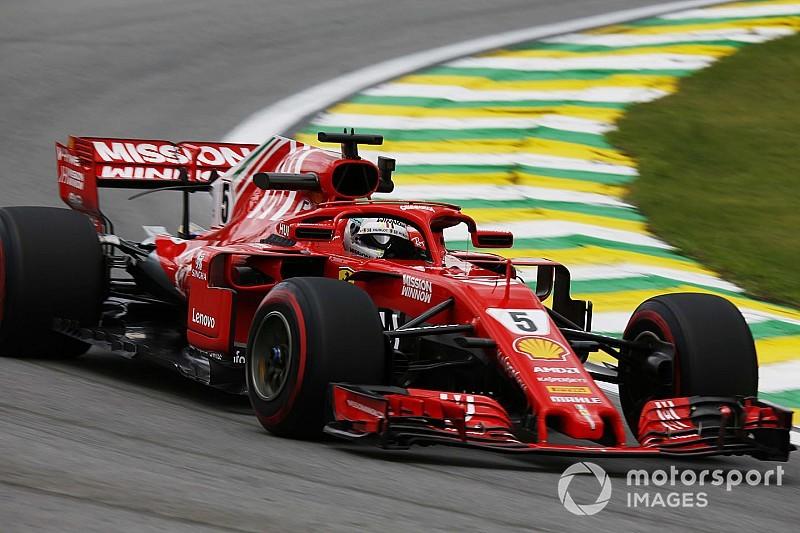 Vettel parádés rádióüzenete Brazíliából a pénteki szabadedzésről