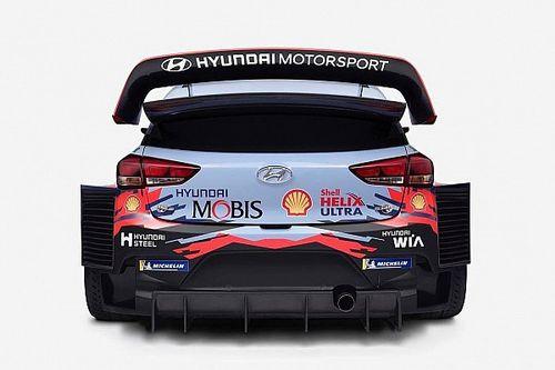 Sorpresa Hyundai: svelata la prima foto della livrea 2019 della i20 WRC di Loeb e Neuville