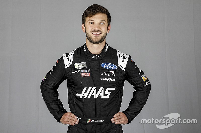 Daniel Suarez's birthday includes new NASCAR Cup Series ride