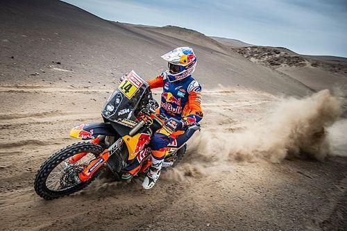 Dakar, Moto: la quinta tappa passa a Sunderland, ora secondo nella generale