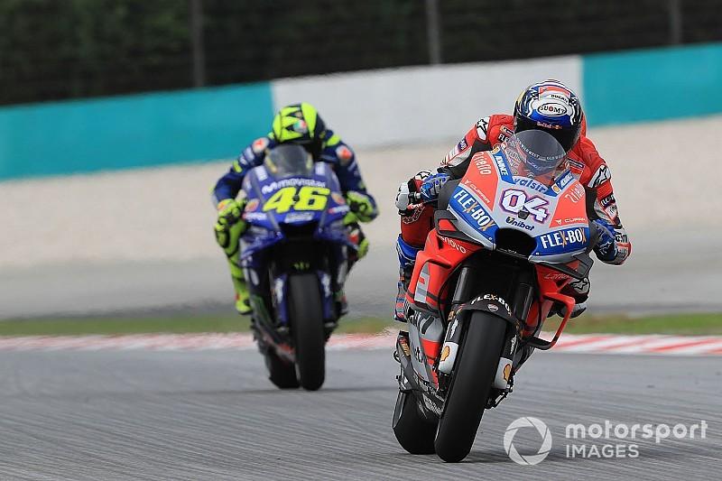 """Dovizioso: """"Sono soddisfatto della Ducati, abbiamo ottimi tempi con gomme usate"""""""