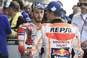 """Dovizioso: """"Marquez es quien puede ir rápido hasta el final"""""""