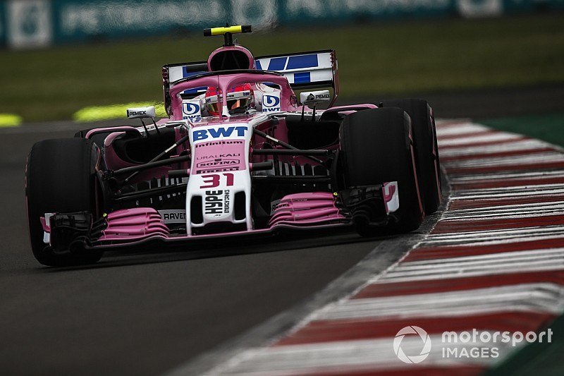 Force India: l'11esimo posto di Ocon cercato per partire con le supersoft