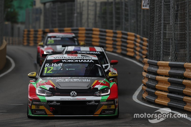 Macau WTCR: Huff sets new lap record, tops practice