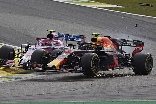 Der Verstappen-Ocon-Crash in Bildern