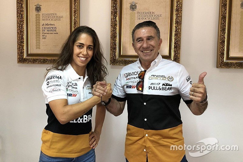 Herrera lands MotoE ride with Angel Nieto team