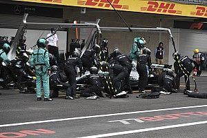 A Mercedes már érti, miért volt gond a gumikkal Mexikóban