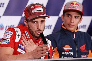 """Decir que la Ducati es la mejor moto """"forma parte del juego"""", atiza Dovizioso"""