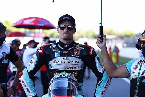 Davies, kaburgalarının kırılması sebebiyle Jerez'de yarışamayabilir