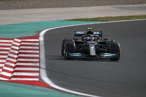 """F1: Bottas """"salva"""" Mercedes e herda pole na Turquia; com punição, Hamilton sai em 11º"""
