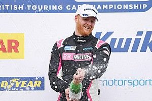 Thruxton BTCC: Cook holds off Hill for Race 1 victory
