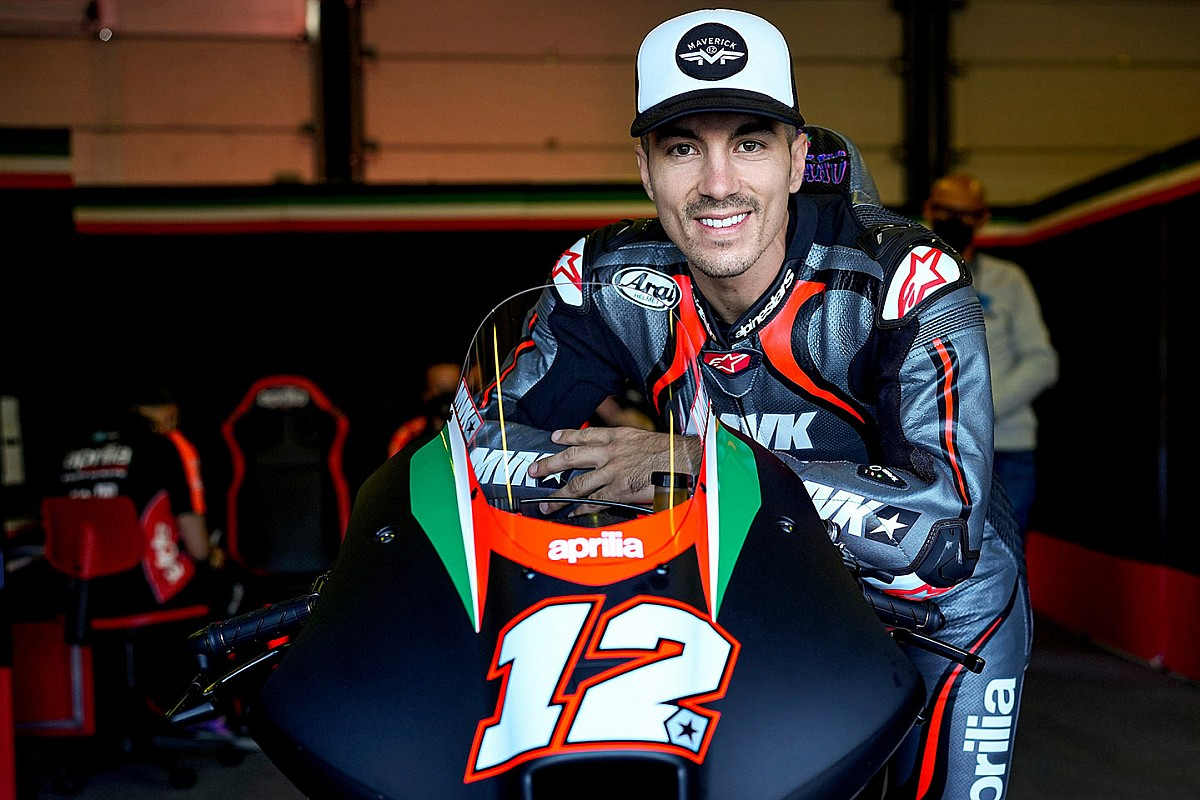 Vinales felt giant pressure ahead of Aprilia MotoGP test