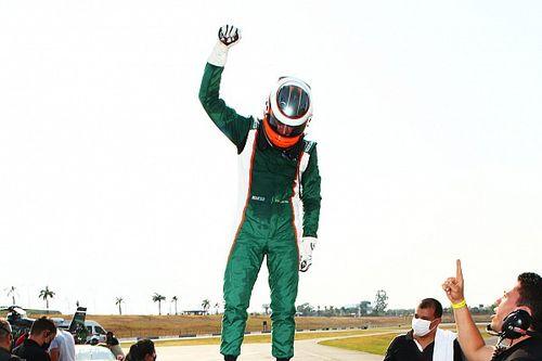 """Porsche Cup: Salles exalta """"vitória mais legal da carreira"""" em Goiânia"""