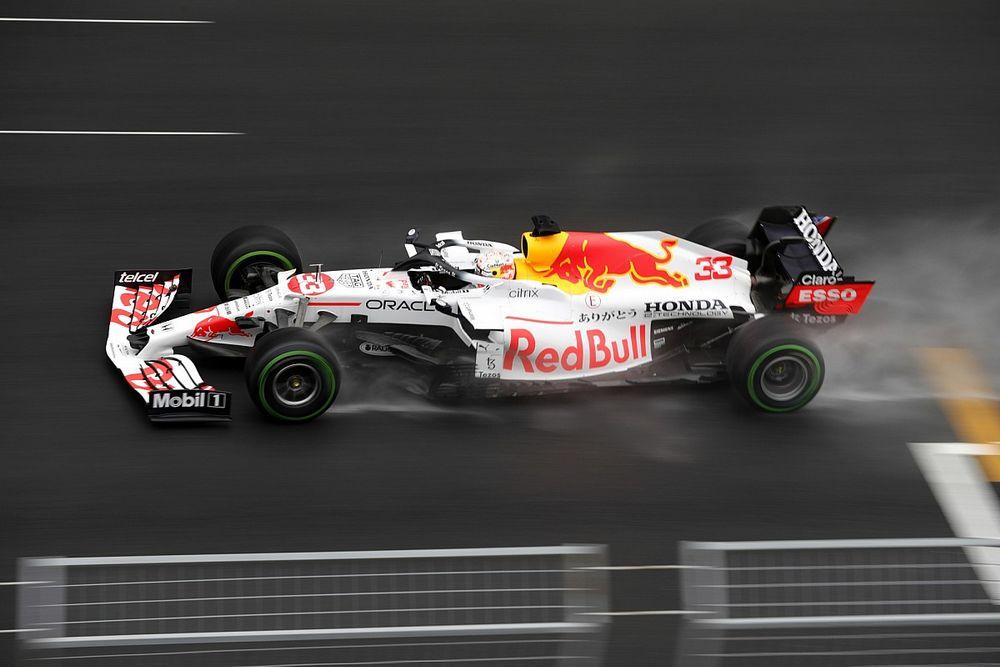 """Verstappen: """"Eigenlijk een vervelende race, maar wel blij met P2"""""""