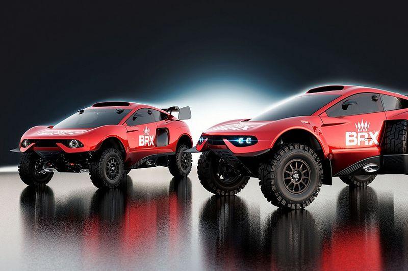 Prodrive reveals upgraded Dakar Rally challenger