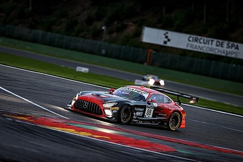 Spa 24 Hours: ASP Mercedes tops opening qualifying