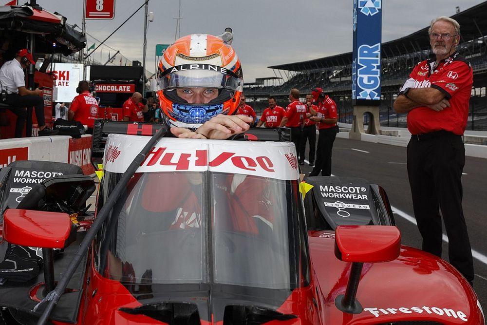 ルンガー、インディカーでのデビューレースは12位に終わるも満足「とてつもない経験だった」