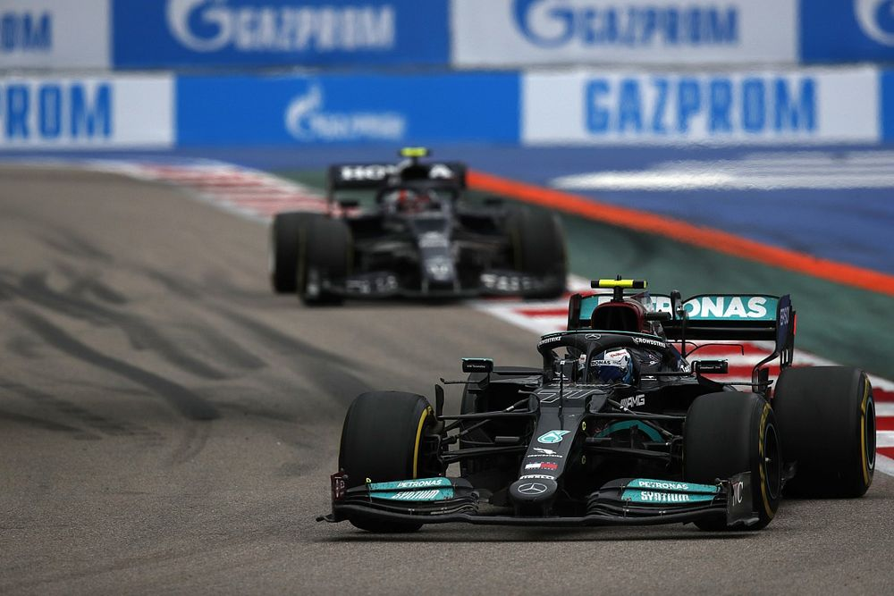 Why Bottas faced impossible task to come through field in Sochi