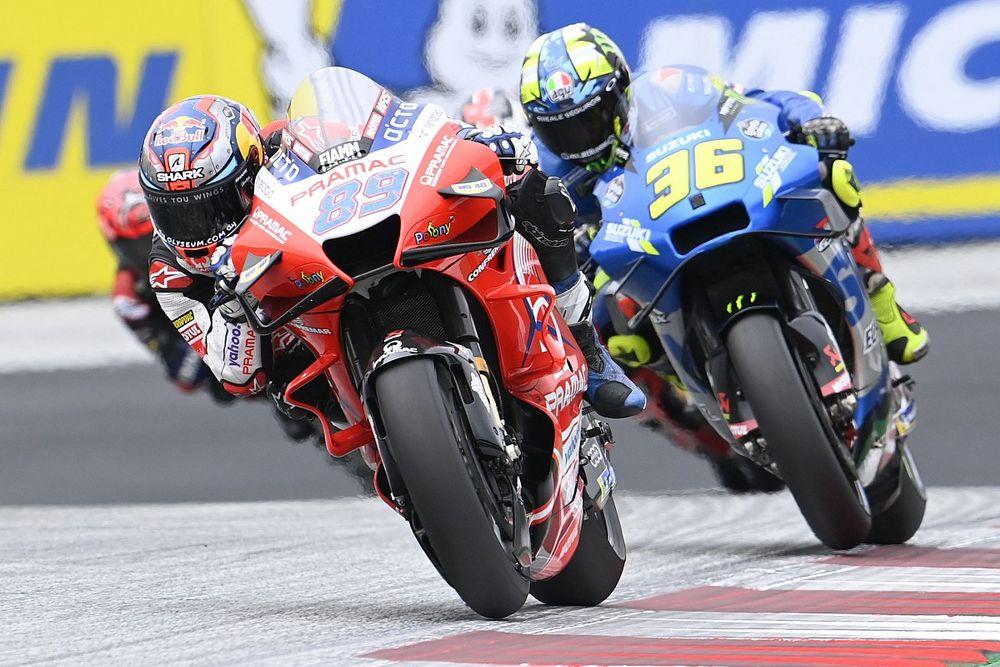 MotoGP Styria Kali Ketiga Lima Pabrikan Berbeda Finis 5 Besar