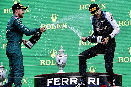 Esteban Ocon Prihatin soal Diskualifikasi Sebastian Vettel