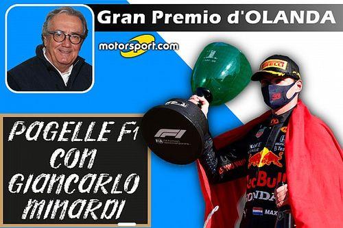 """Minardi: """"Max impassibile di fronte alla marea orange"""""""