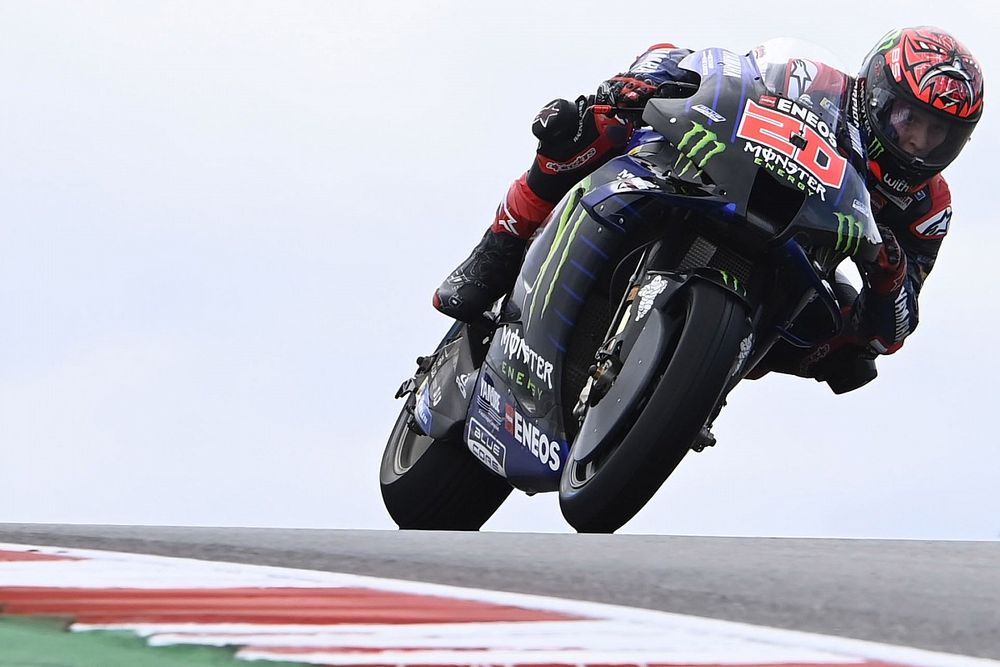 "Quartararo juge les bosses indignes du MotoGP : ""C'est une blague"""