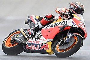 EL1 - Márquez domine sur piste humide