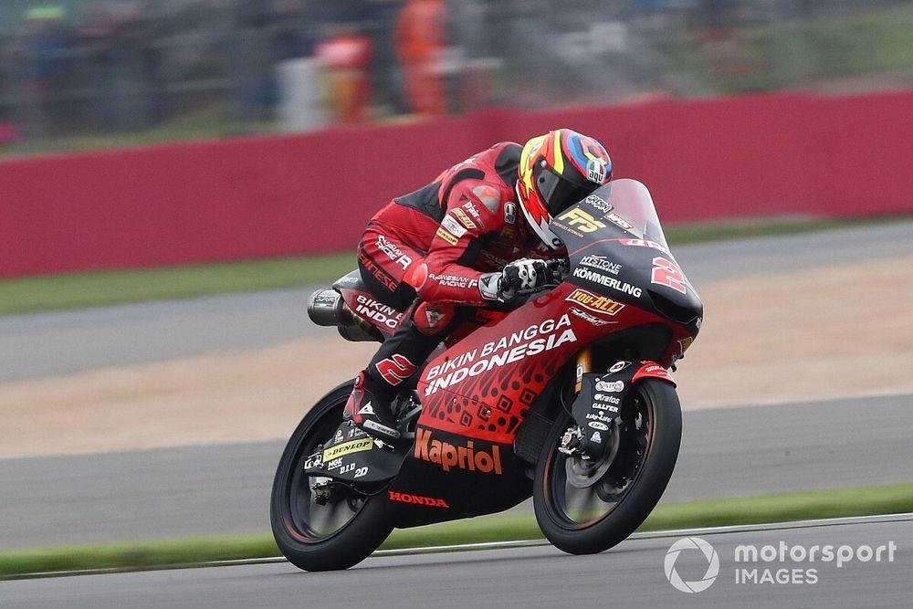 Moto3 Aragon 1. antrenman: Rodrigo en hızlısı, Deniz 12. oldu
