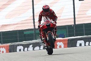 """Bagnaia: """"La serenità nel box Ducati mi aiuta molto"""""""