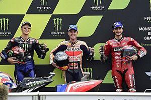 British MotoGP: Espargaro puts Honda on pole ahead of Bagnaia
