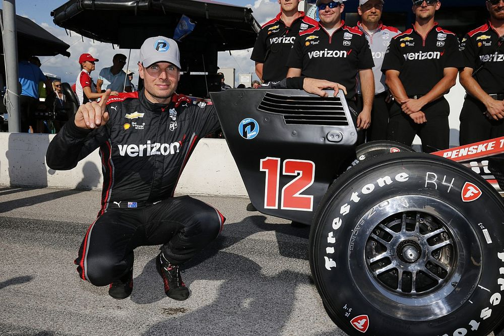 Gateway IndyCar: Power edges Herta for first pole of 2021