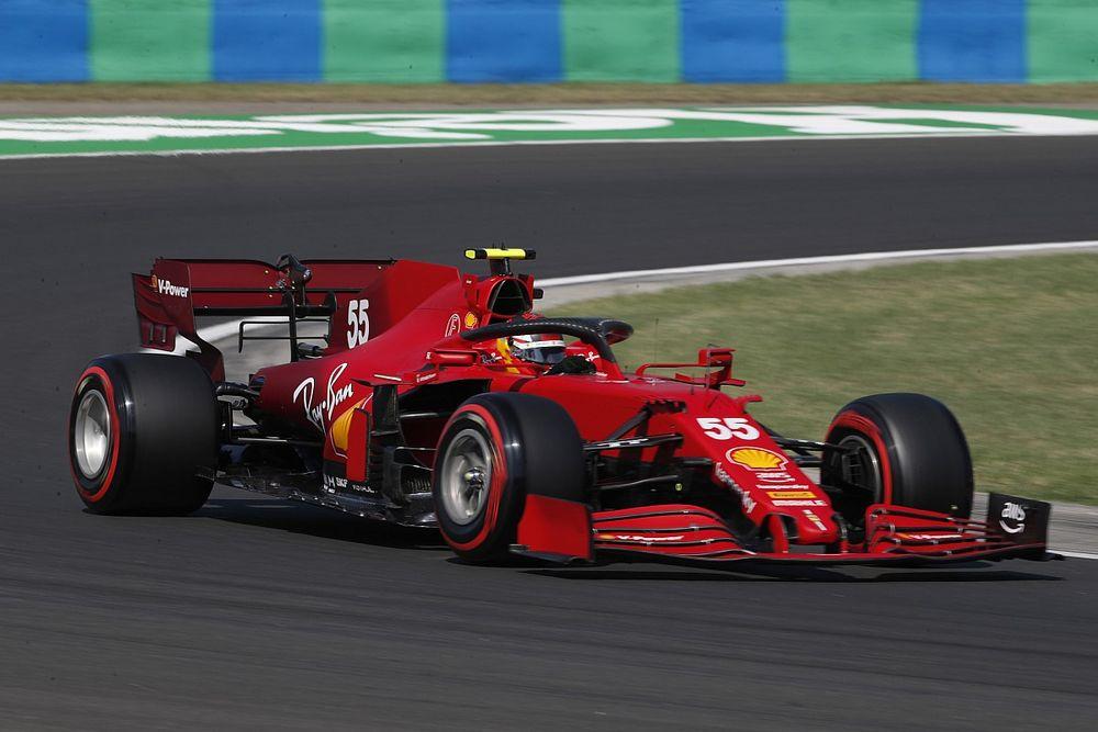 Motorcsere Carlos Sainznál